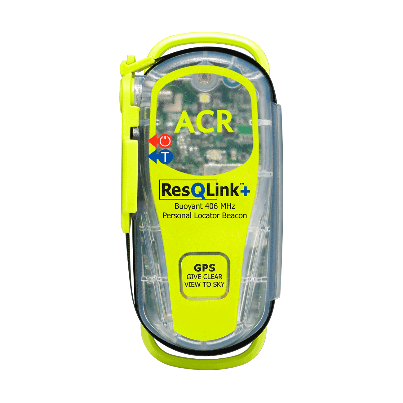 Resqlink  plb front view