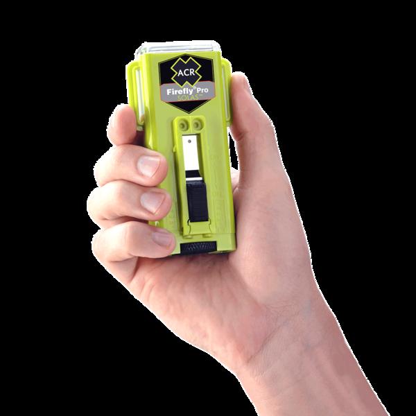 Firefly pro solas strobe marker lights in hand