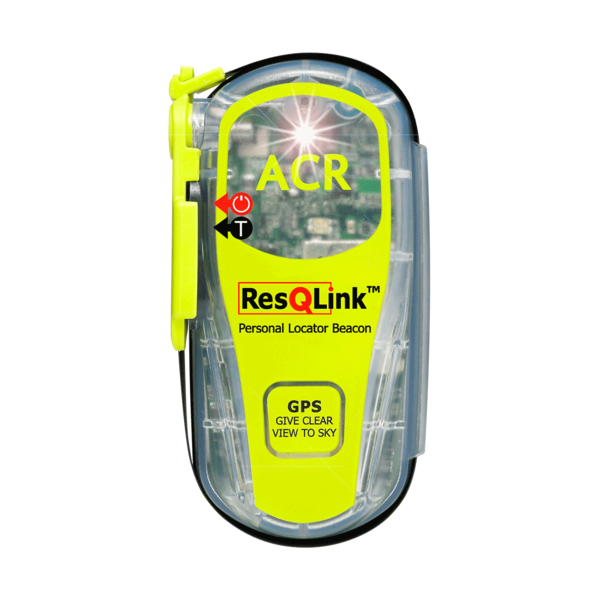 Resqlink with strobe plb front view